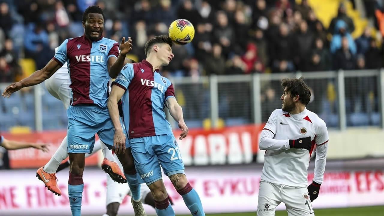 Gençlerbirliği 0 – Trabzonspor 2 Maç Özeti İzle