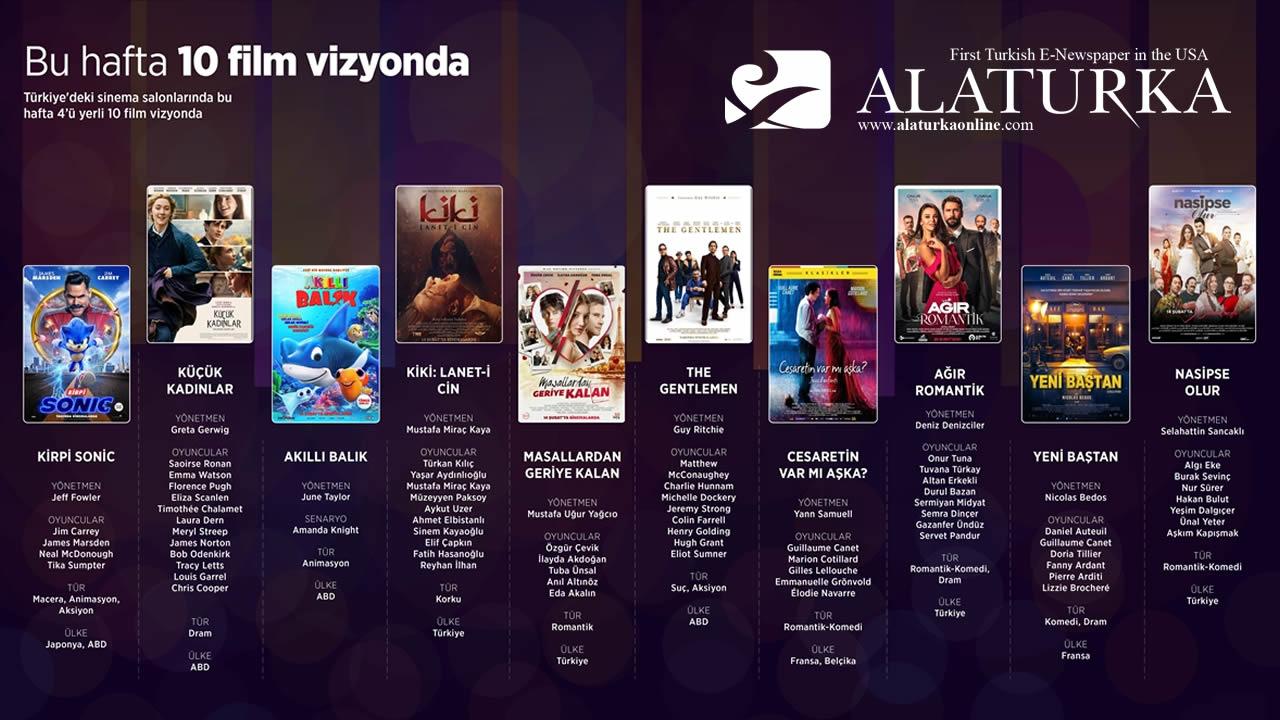 Türkiye'de bu hafta vizyona giren filmler – Fragmanları İzleyin