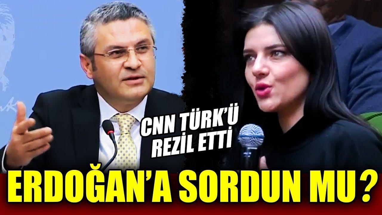 CHP, CNN Türk'ü Rezil Etti ! Erdoğan'a Sorabildiniz mi?