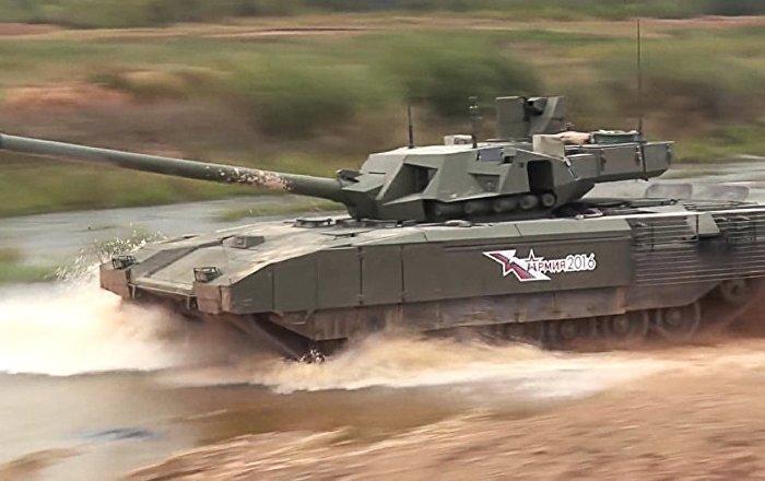 ABD'de Armata tankının imha edildiği bir video yayınlandı