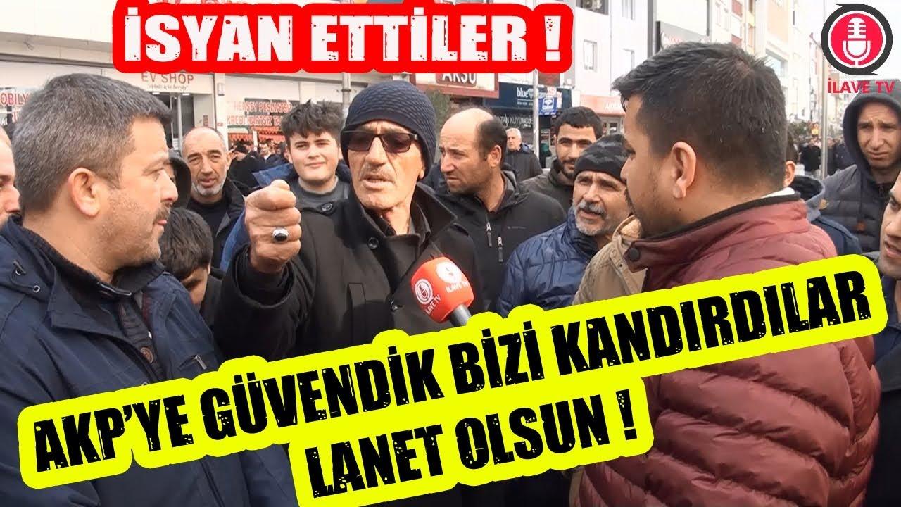 AKP'ye Güvendik Bizi Kandırdılar ! Sultanbeyli'de AKP'ye İsyan Var !