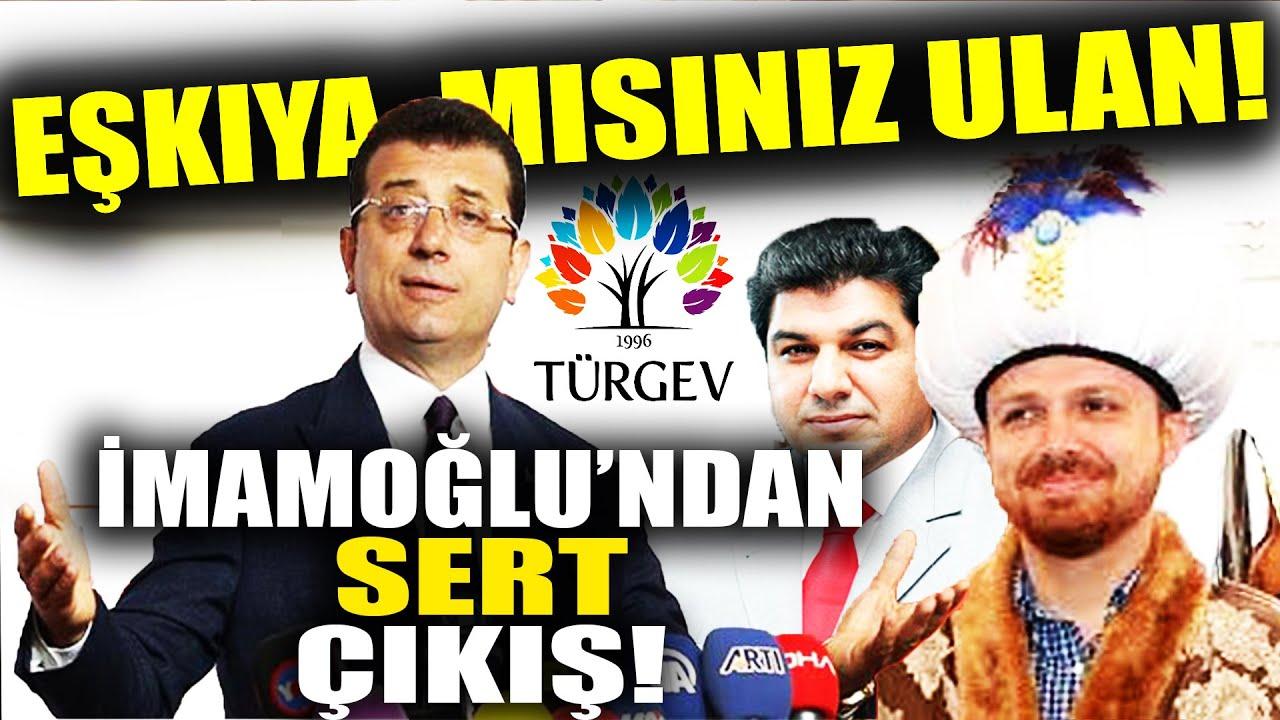 İmamoğlu, İBB'den Mal Kaçıran AKPlilere Sert Çıktı!