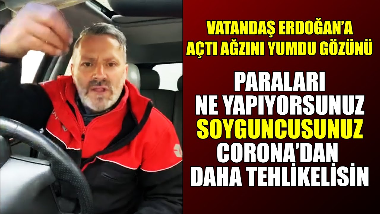 Vatandaş İsyan Etti Erdoğan'a Açtı Ağzını Yumdu Gözünü