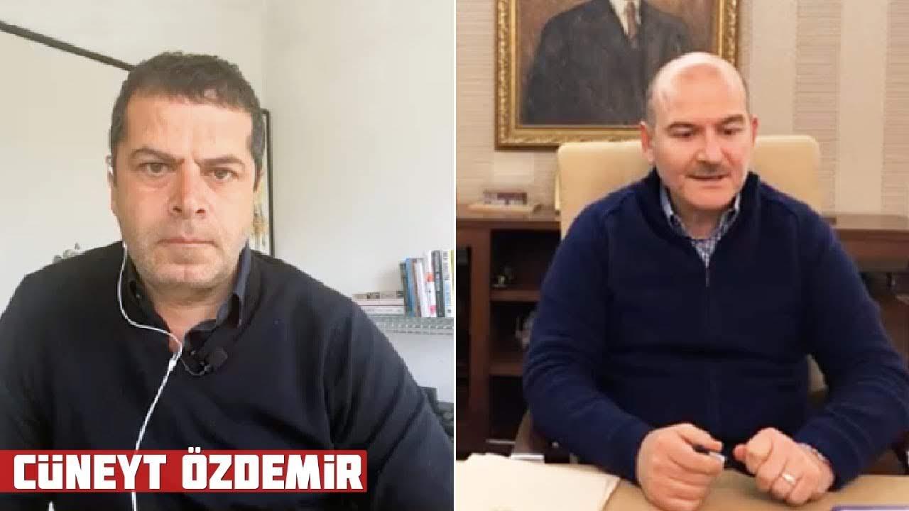 Süleyman Soylu Cüneyt Özdemir'in Sorularını Yanıtladı