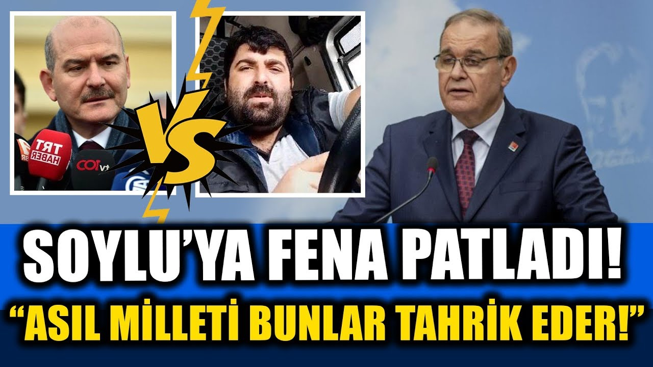 """Faik Öztrak Süleyman Soylu'ya """"Milleti Asıl Bunlar Tahrik Eder"""" dedi… Tek Tek Saydı!"""