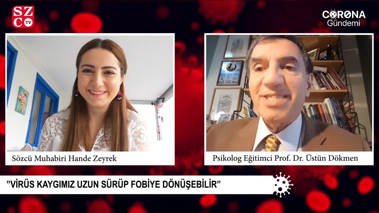 CORONA GÜNDEMİ   Prof. Dr. Üstün Dökmen, anne babaları uyardı (30.03.2020)