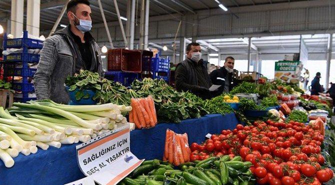 Gıda enflasyonu Mart'ta yüzde 3,89 arttı, yoksulluk sınırı 7 bin 639 TL'ye yükseldi