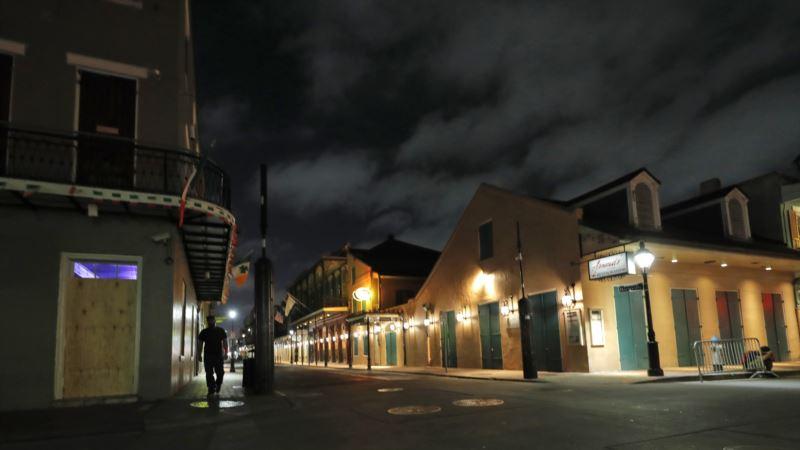 'New Orleans ABD'de Salgının Yeni Merkezi Olabilir'