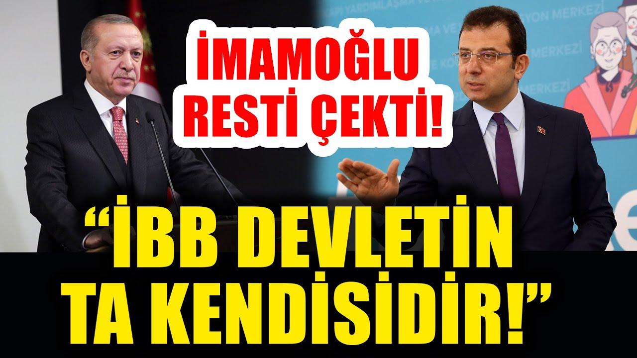 Ekrem İmamoğlu Erdoğan'a Resti Çekti: İBB Devletin Ta Kendisidir!