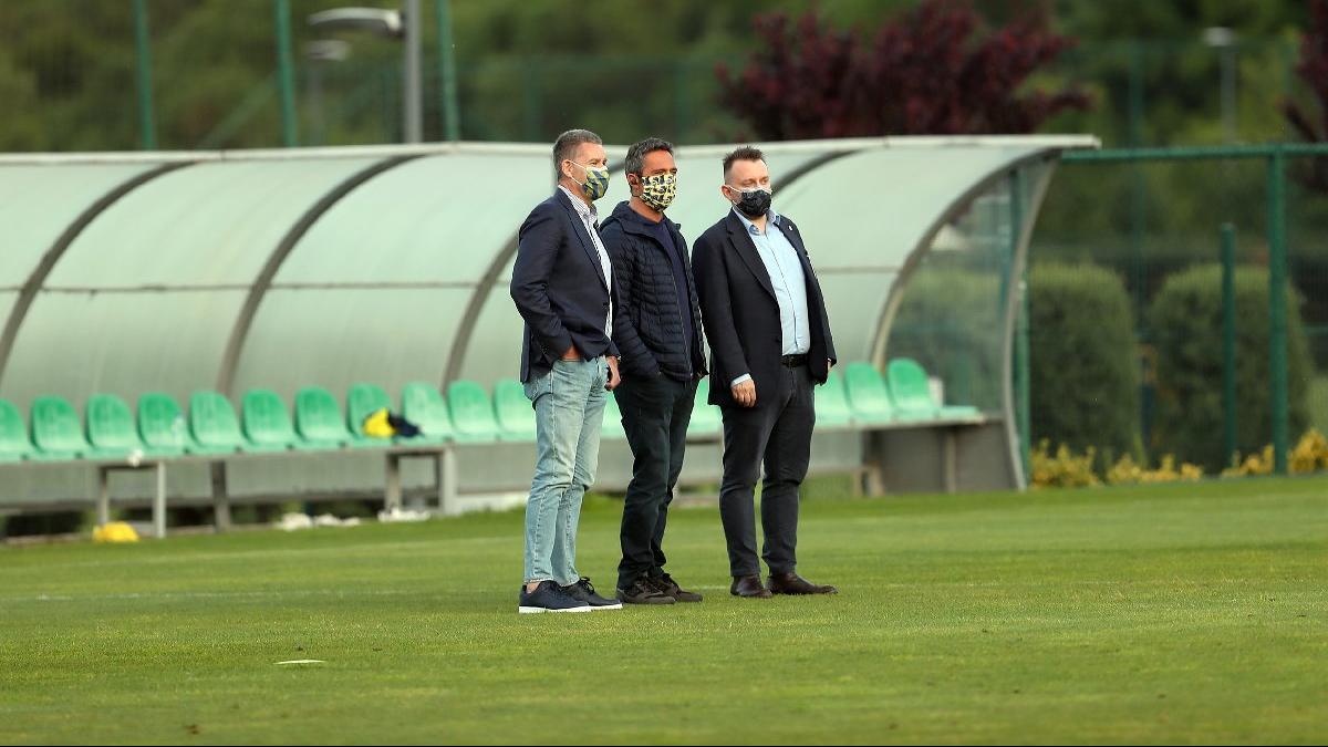 Fenerbahçe Başkanı Ali Koç'tan yakın takip! Maskeyle…