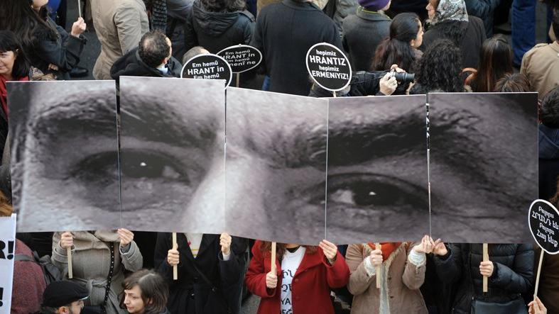 Hrant Dink Vakfı'na tehdit mesajı gönderen şüpheli adliyeye sevk edildi