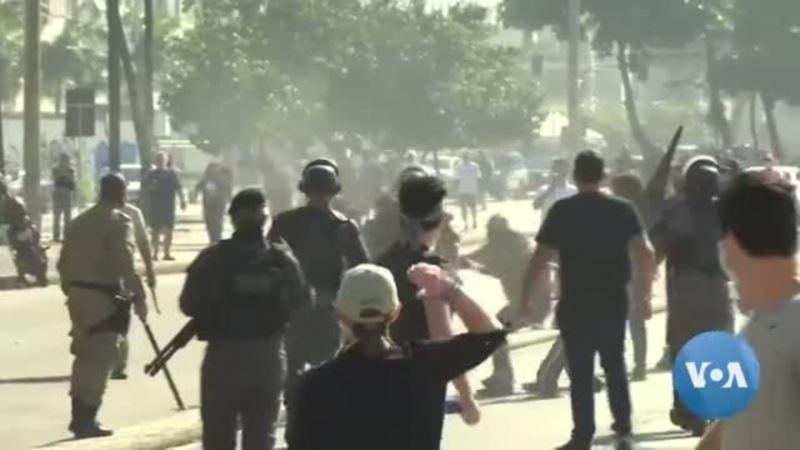 ABD'deki Polis Karşıtı Gösteriler Brezilya'ya da Sıçradı