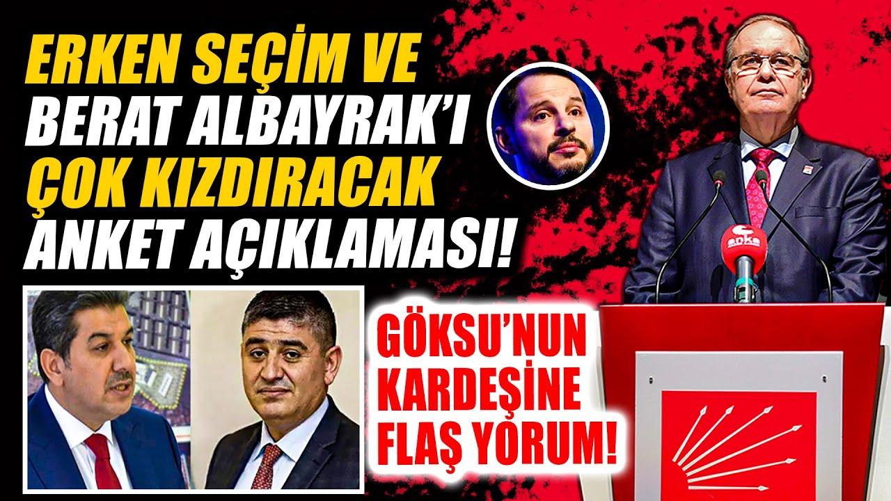 Faik Öztrak Berat Albayrak'ı kızdıracak anketi açıkladı… Erken seçim sorusuna yanıt verdi!