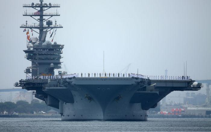 ABD Bağımsızlık Günü Güney Çin Denizi'nde iki uçak gemisiyle tatbikat yaparak kutlandı, Pekin 'güç gösterisini' kınadı