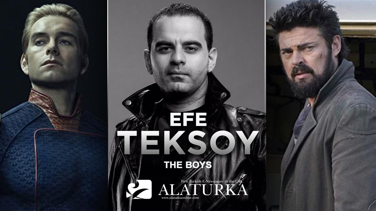 """Efe Teksoy, Aykırı Süper Kahramanlar """"The Boys""""u Yazdı"""