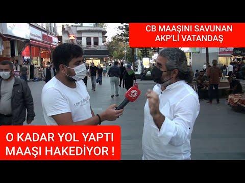 Cumhurbaşkanı Maaşını Savunan AKP'li Vatandaşımız İle Bir Röportaj