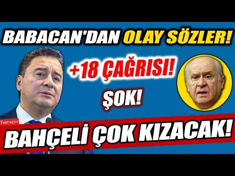 Ali Babacan öyle bir konuştu ki… Devlet Bahçeli çok kızacak!