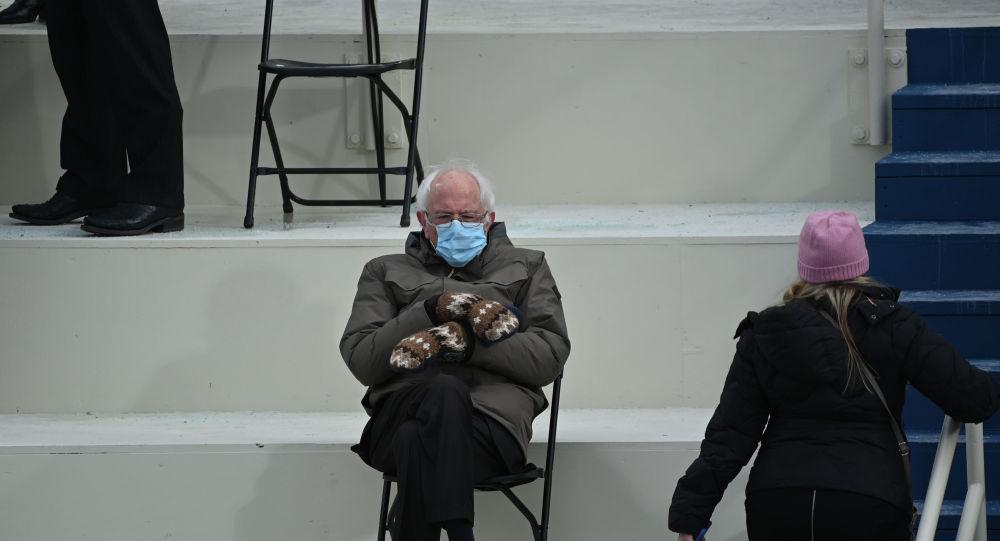 Bernie Sanders: Sadece ısınmaya çalışıyordum