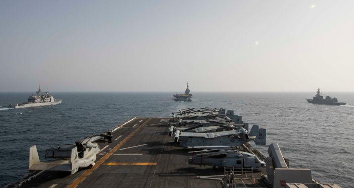 ABD ve İran gemileri uzun bir aradan sonra Basra Körfezi'nde yeniden karşı karşıya