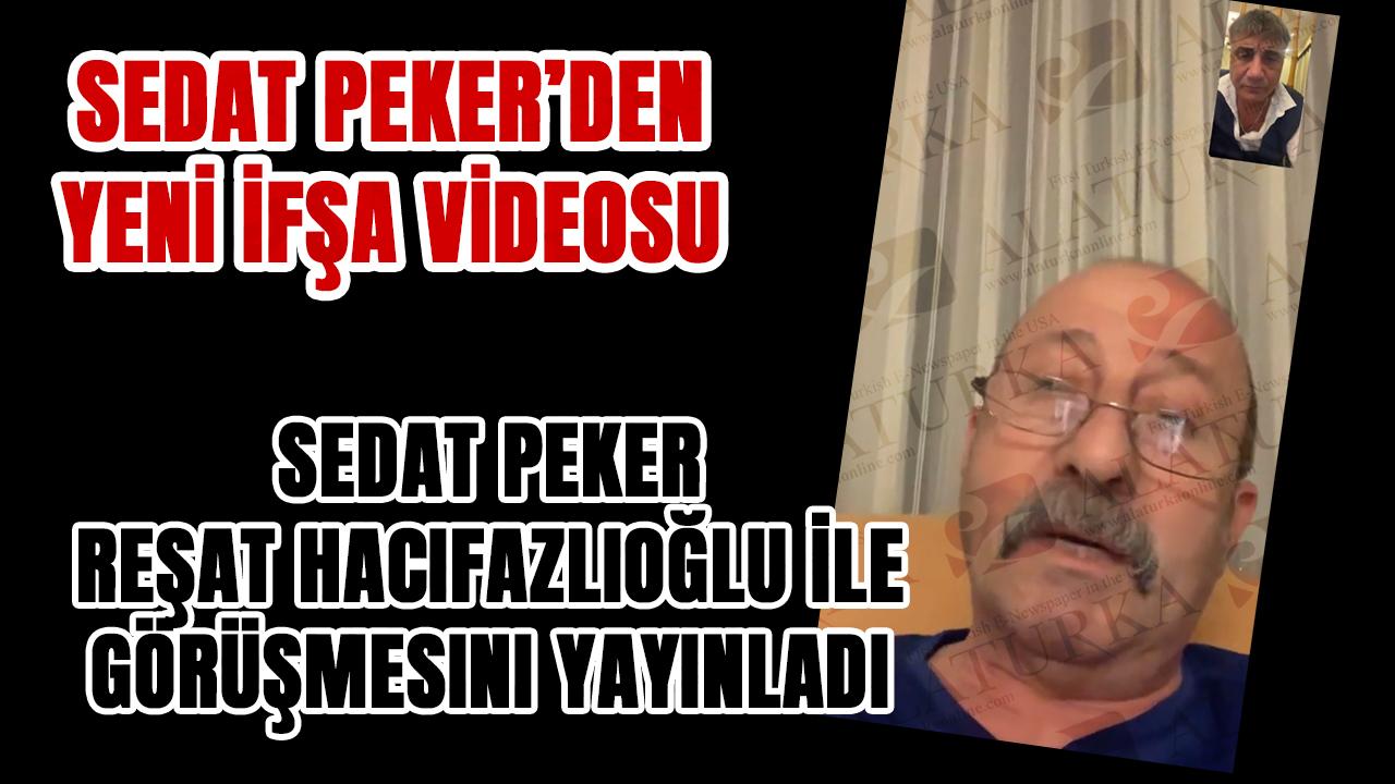Sedat Peker yeni ifşa videosu yayınladı.. Reşat Hacıfazlıoğlu kimdir?