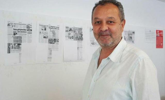 Gazeteci Nejat Bekmen, son yolculuğuna uğurlandı.