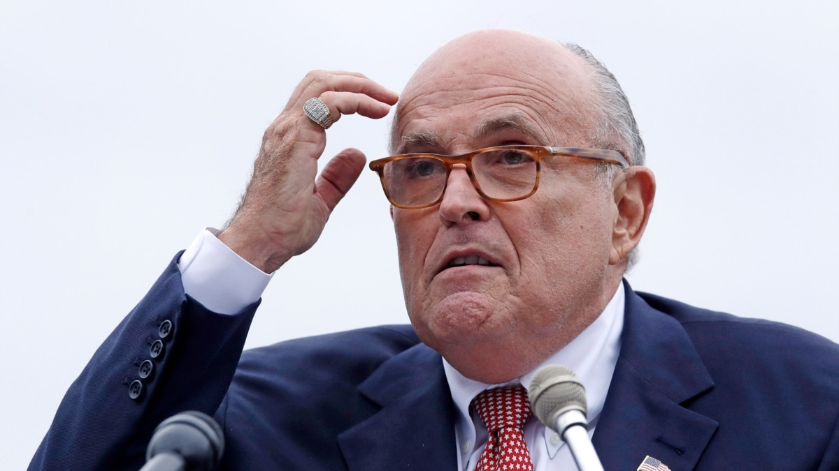 Giuliani'nin Avukatlık Lisansı Askıya Alındı