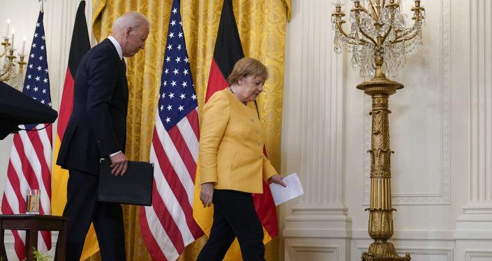 ABD ve Almanya, Washington Deklarasyonu'nu imzaladı