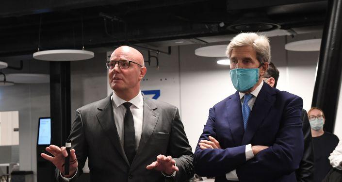 Rusya Başbakan Yardımcısı Çernışenko, ABD'nin İklim Temsilcisi Kerry ile görüştü