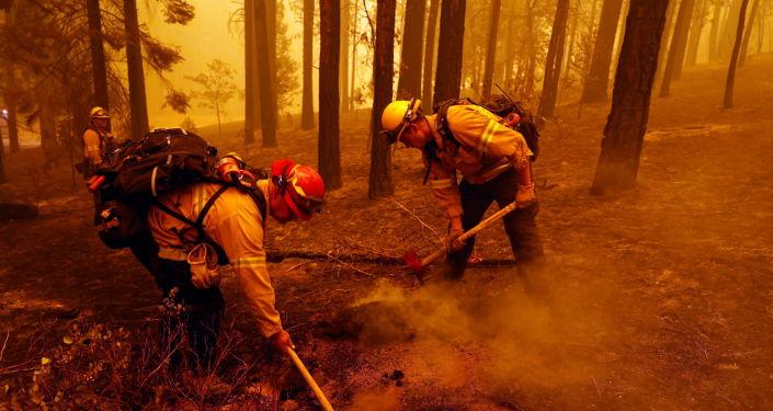 Kaliforniya'daki orman yangınları devam ediyor: 8 kişi kayıp