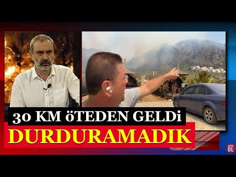"""Muhammet Tokat: """"30 kilometreden beri bu yangını durduramadık"""""""