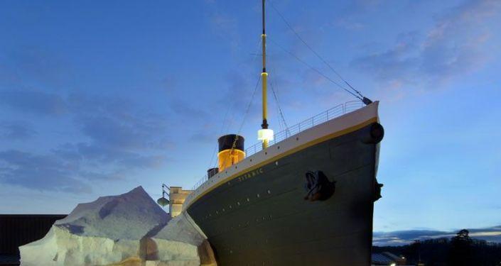 Titanik Müzesi'ndeki buzdağı, ziyaretçilerin üzerine devrildi: 3 yaralı