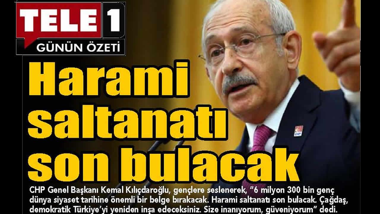 Gazete 1. Sayfaları – Gazete Manşetleri – 25 Ekim 2021