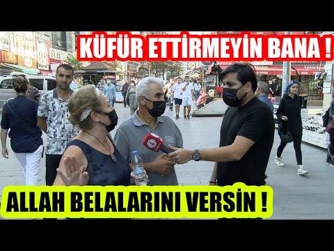 """""""KÜFÜR ETTİRMEYİN BANA""""   ALLAH BELALARINI VERSİN !"""
