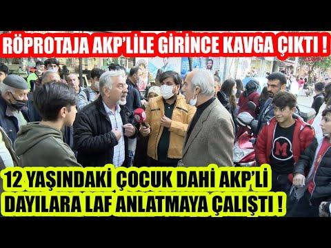 RÖPORTAJA AKP'LİLER GİRİNCE ORTALIK KARIŞTI !   ESENLER