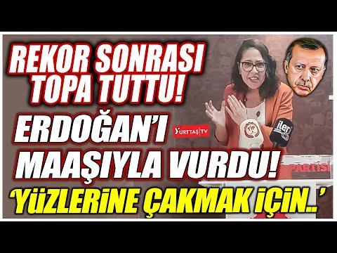 Sera Kadıgil rekorlar kıran dolar sonrası Erdoğan'ı maaşıyla vurdu! 'Yüzlerine çakmak için..'
