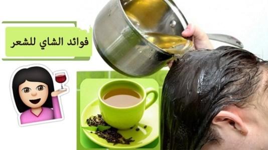 وصفات الشاي الاخضر للشعر