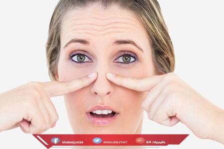 إزالة الرؤوس السوداء من الأنف بمعجون الأسنان