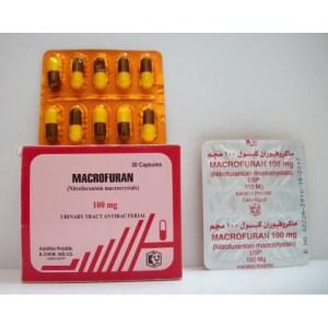 دواء ماكروفيوران ودواعي الاستخدام والجرعة الامنه منه