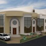 مخطط بيت دور واحد سعودي بتصميم ثري دي عبقري