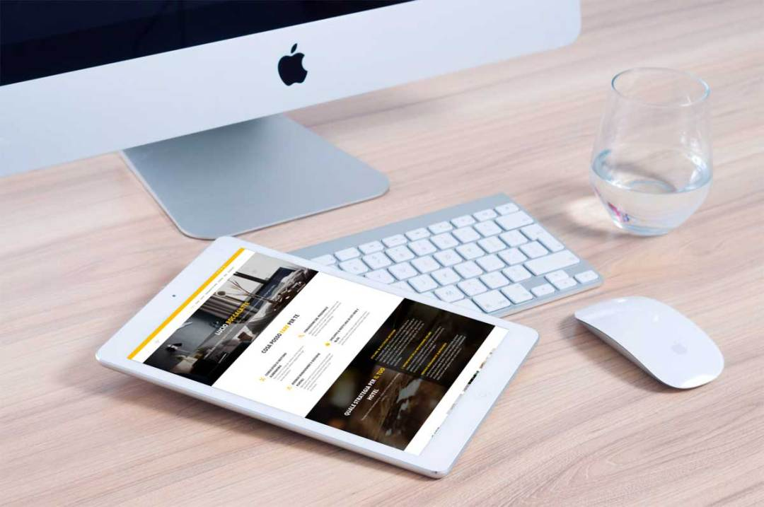 Portfolio : Consultant hotellerie (ipad)
