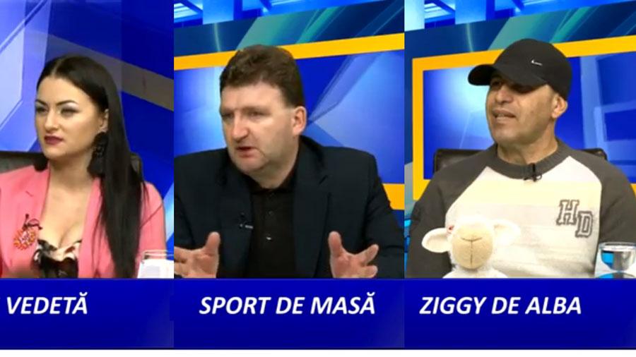 Viata de vedeta, Ziggy de Alba si Sahul, sport de masa