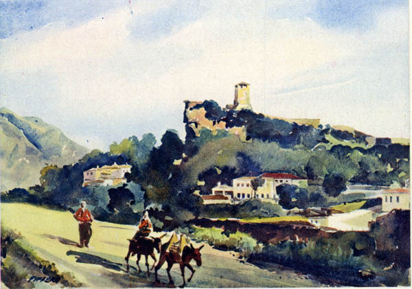 Kruja - La Patria di Scanderbeg