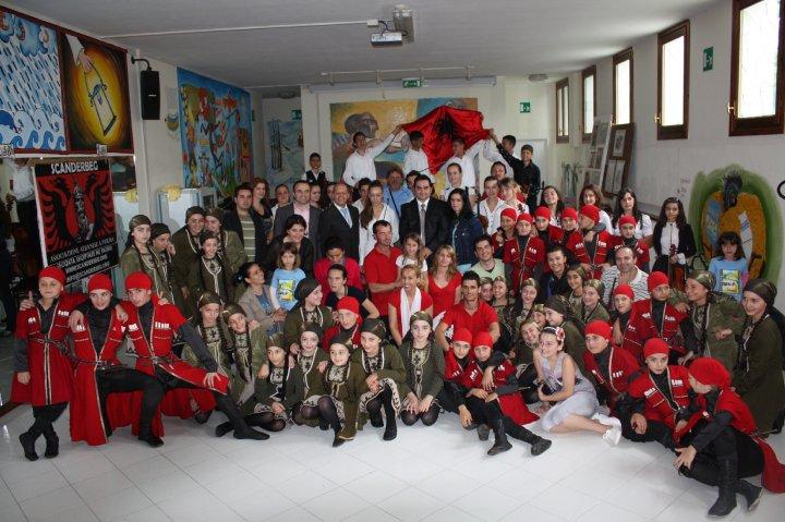 """Giornata della Cultura Albanese"""" a Ferriere, provincia di Piacenza"""