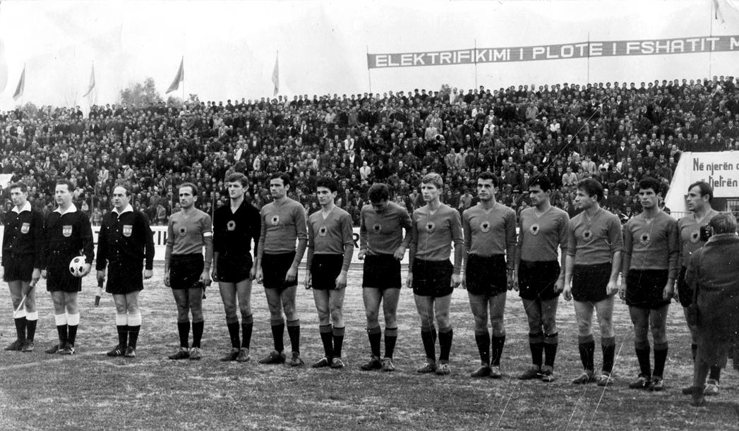 Tirana 17 dicembre 1967 - Albania-Germania Federale 0-0