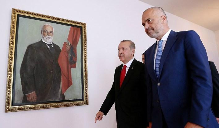 Edi Rama, Recep Tayyip Erdogan