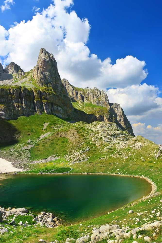 Le Alpi albanesi, I Laghi Di Jezerca, Theth