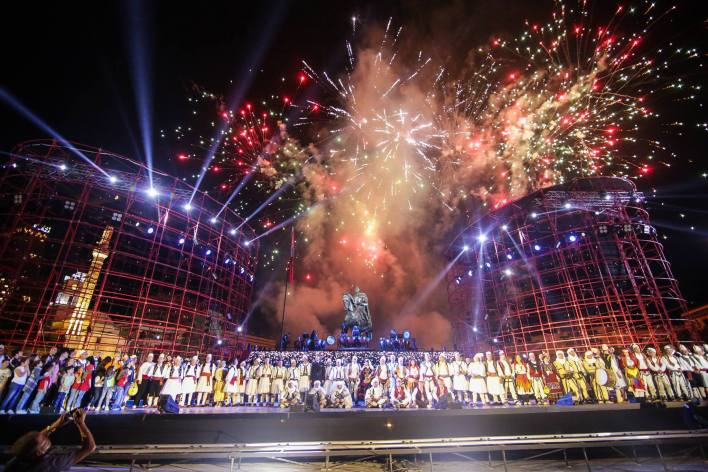 Inaugurazione Della Piazza Scanderbeg 10 Giugno 2017
