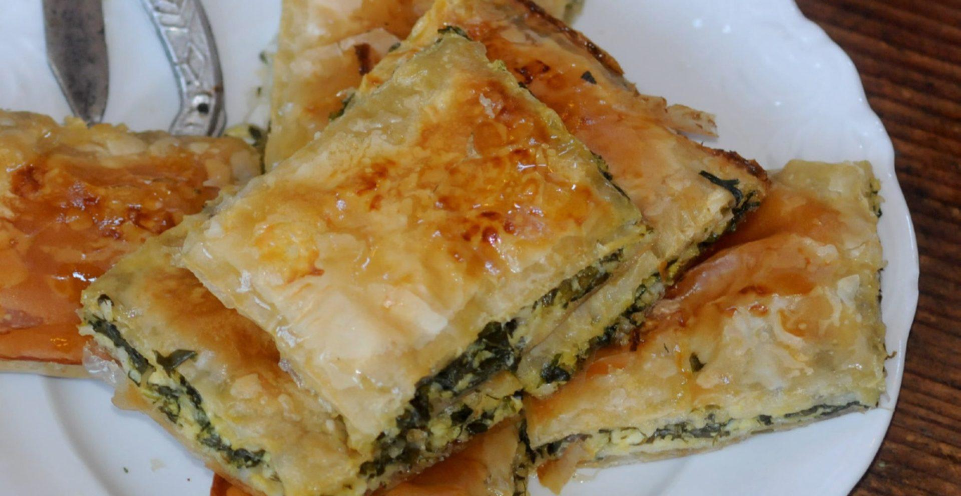 Byrek agli spinaci (Torta salata agli spinaci)