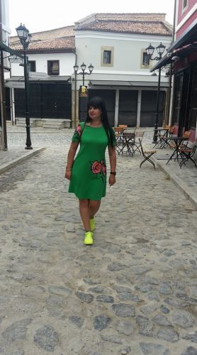 Adela Kolea al Bazar di Korça