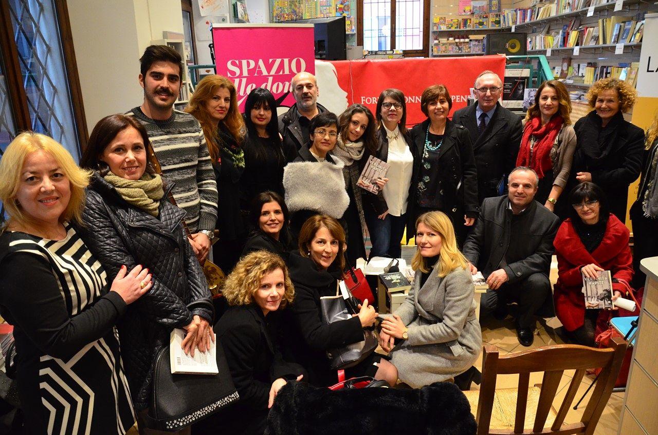 Presentazione dei romanzi dell'autrice Ismete Selmanaj Leba a Parma sotto la cura di Forum Donne Indipendenti